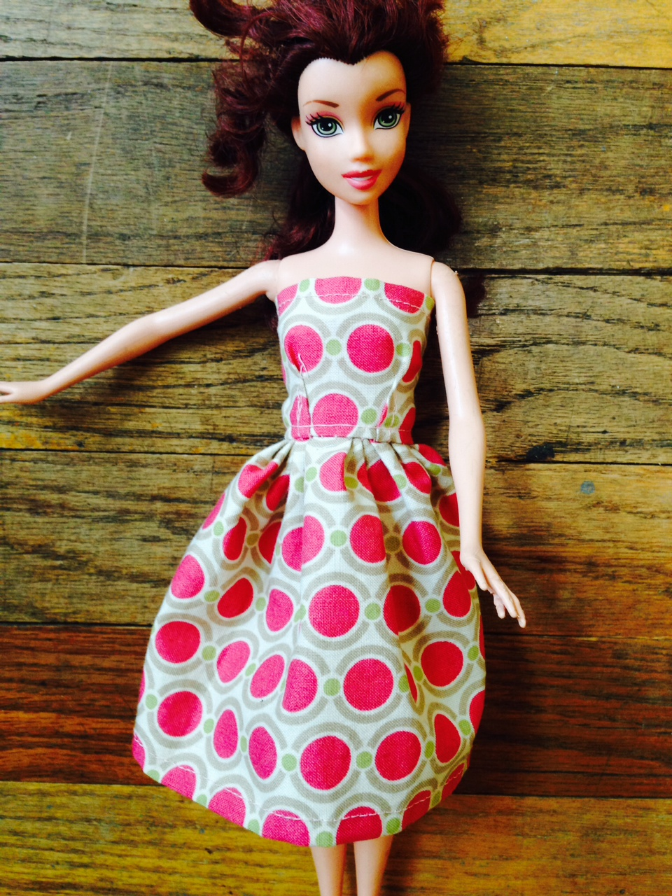 More DIY Barbie Dress-Up | Art Education Outside The lines